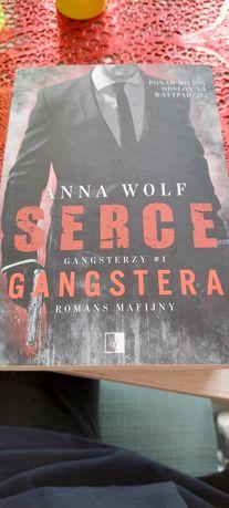 Ksiazka Serce Gangstera Anna Wolf