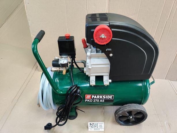 НОВ компрессор сГермании Parkside PKO 270 A5/компресор масляный/пневмо