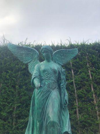 Rzeźba z brązu Anioł H130cm