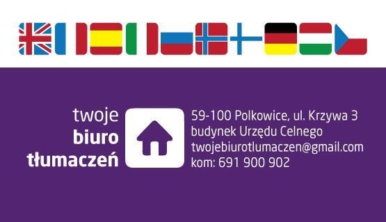 TŁUMACZ PRZYSIĘGŁY -wszystkie języki!