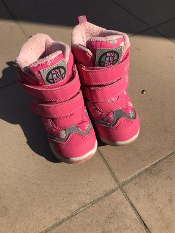 Детские зимние термо сапожки B&G