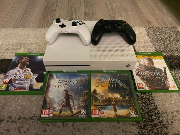 Xbox One S 500GB/ 2x Pad/ 4x Gra