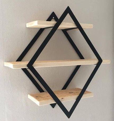 LOFT индастриал лофт полка полочка мебель металла