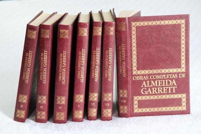 7-Livros Obras de Almeida Garrett