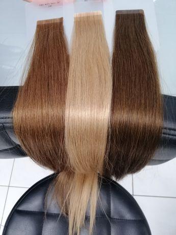 Нарощення волосся стрічкове