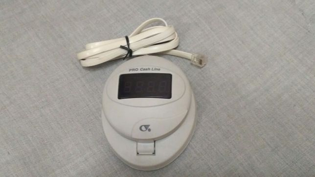 Выносной дисплей (индикатор) для счетчика банкнот Pro Cash Line.