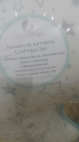 Poduszka do karmienia Comfi-Mum 5w1 pianka memory