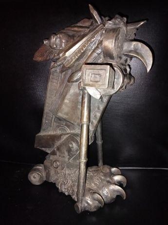 Rzeźba z Brązu Brąz Stara rzeźba w brązie lata 2ga poł. XXw. Autorska