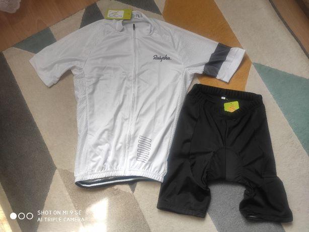Komplet rowerowy - koszulka + spodenki