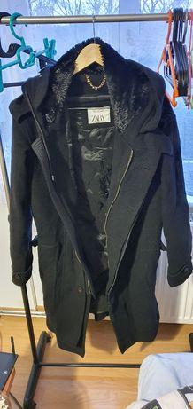 Płaszcz kurtka Zara z kapturem