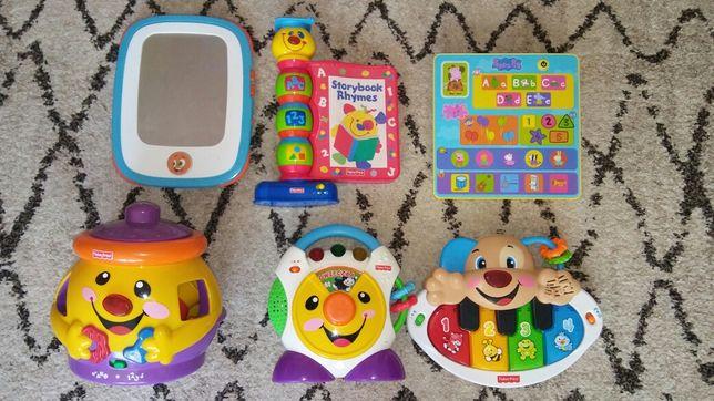 Zabawki fisher price i inne zestaw