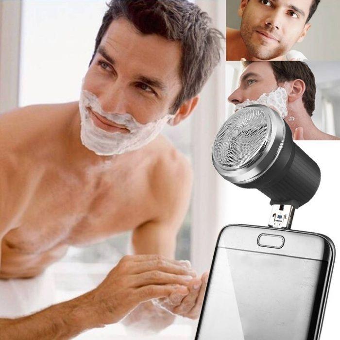 USB Mini Aparador de Barba portátil de viagem (NOVO) Braga - imagem 1