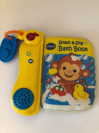 książeczka do kąpieli dźwięk splash&sing vtech