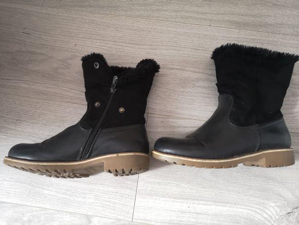 Buty zimowe dziewczęce r. 34