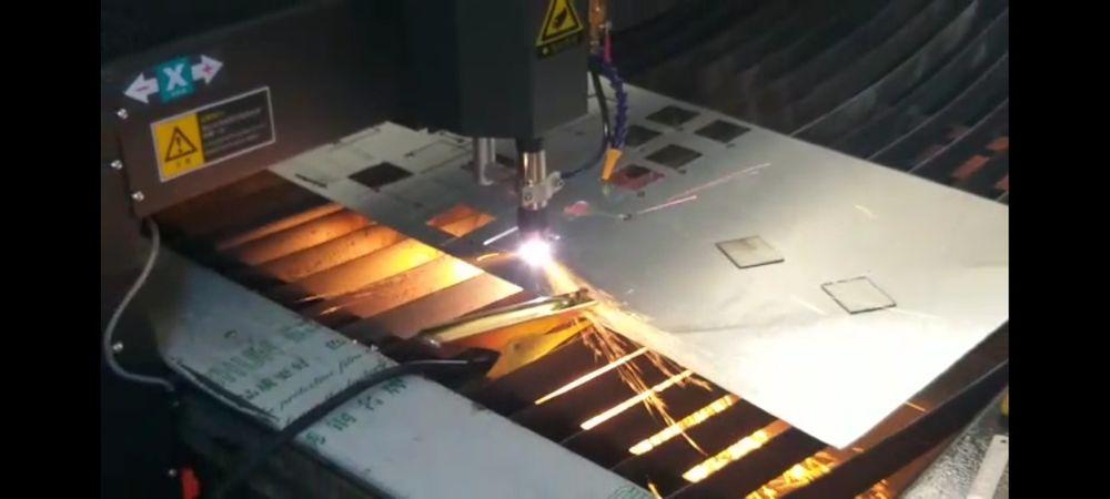 Cortador CNC a plasma de todo os metais 1300x2500mm Nogueira, Fraião E Lamaçães - imagem 1