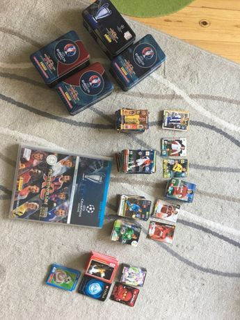 Karty euro star Wars Chima Ninjago piłkarze
