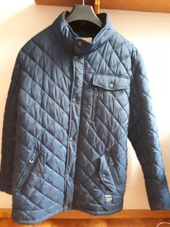 Granatowa pikowana kurtka męska House  roz xxl