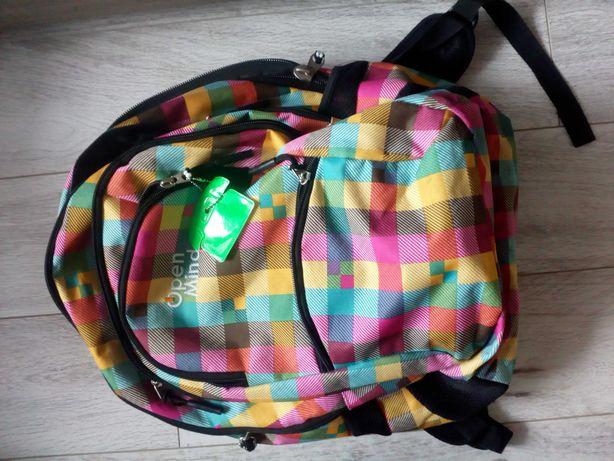 Plecaki szkolne chlopiec i dziewczynka