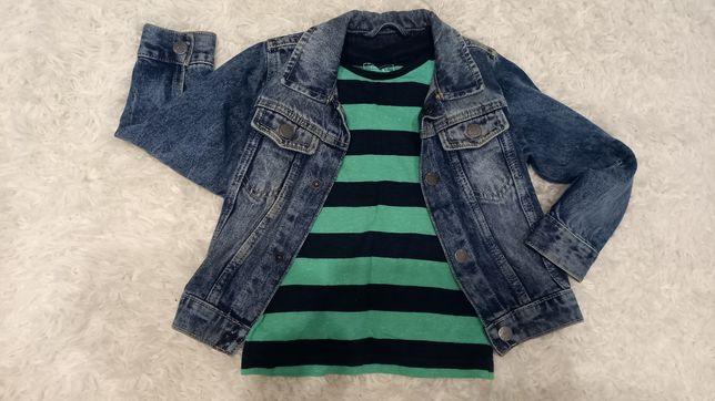 Курточка джинсовая и реглан