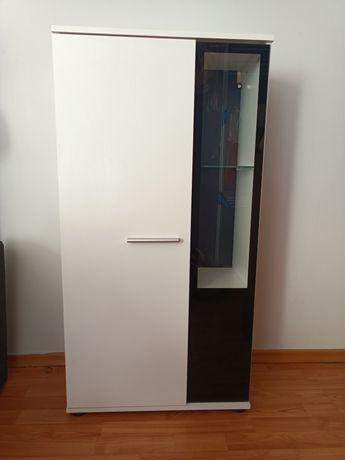 Zestaw szafek białe