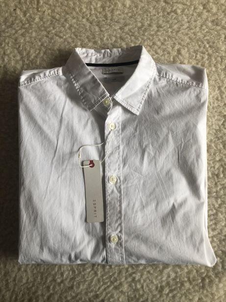Biała męska koszula Esprit