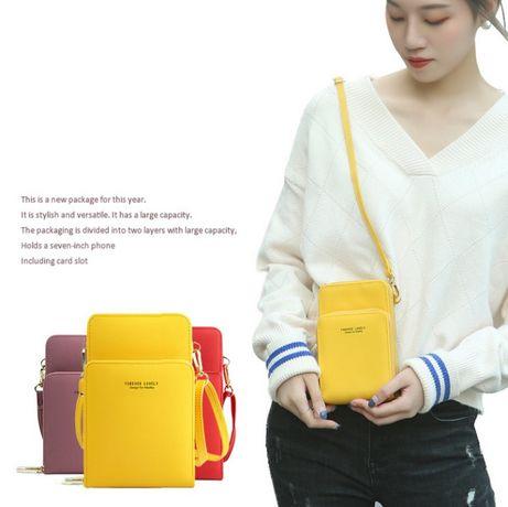 Сумочка mini через плечо кроссбоди для телефона сумка клатч с ремешком