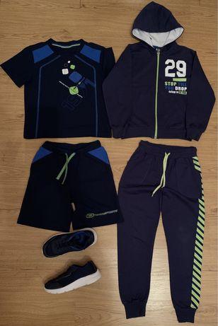 Спортивный костюм, форма и кроссовки 6-7 лет