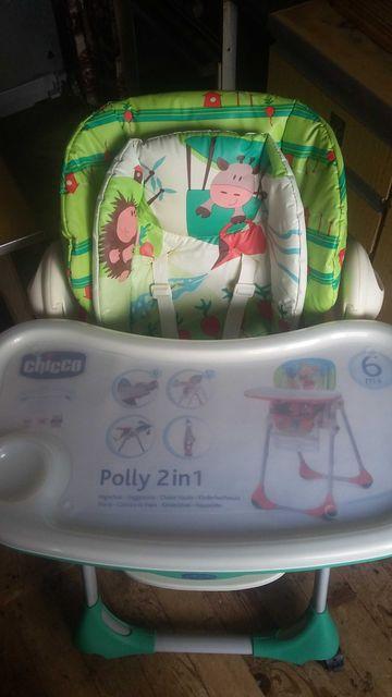 Крісло для годування Chicco Polly 2 в 1