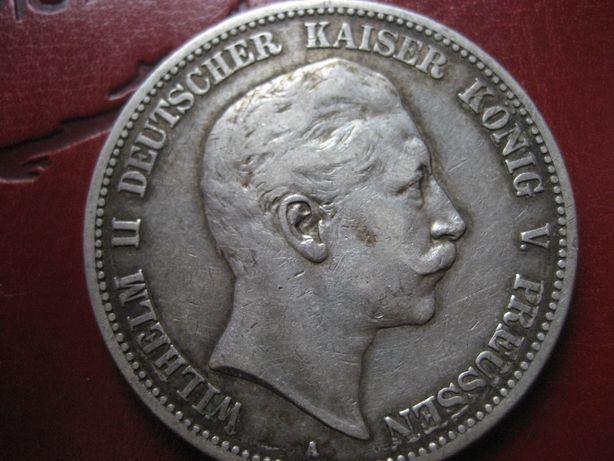 5 марок 1902 року Прусія срібло