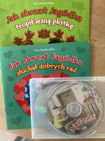 Książeczki i plyty dla dzieci