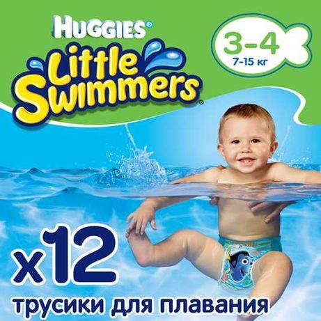 Подгузники-трусики Huggies Little Swimmers 3-4 (12 шт.)
