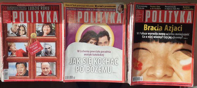Tygodnik Polityka rocznik 2011.