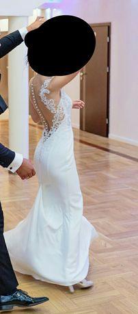 Wyjatkowa Suknia ślubna.