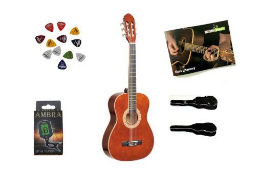 Gitara klasyczna 3/4 PRIMA +3kostki+STROIK+POKROWIEC DARMOWA wysyłka
