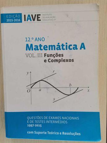 Manual Matemática Funções e Complexos 12º
