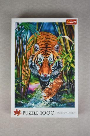 Puzzle 1000 majestatyczny Tygrys