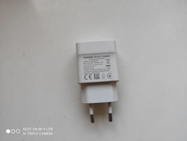 Ładowarka sieciowa USB Quickcharge Huawei Oryginał Szybka Wtyczka Bial