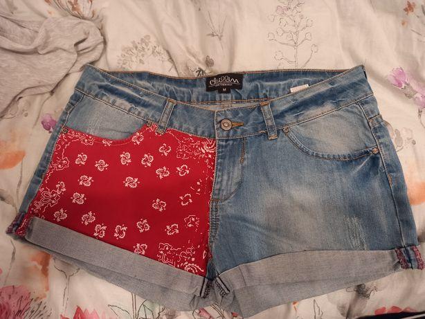 Spodenki jeansowe Cropp