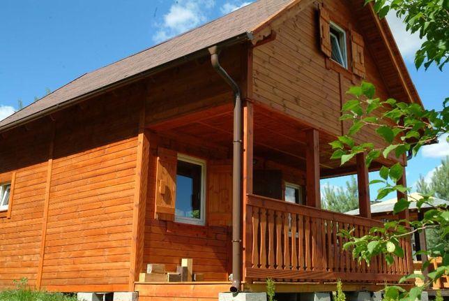 Wynajmę domek nad jeziorem (działka 3000 m2)