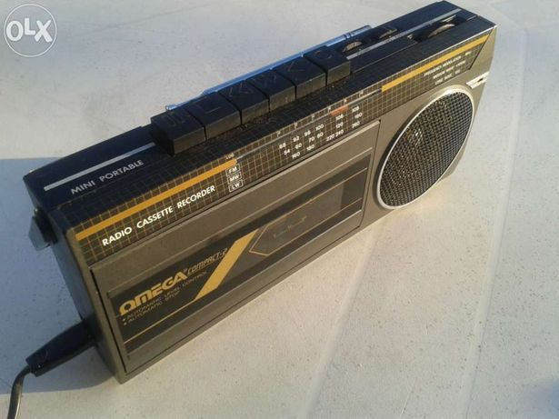Radio-cassete-recorder omega compact-2