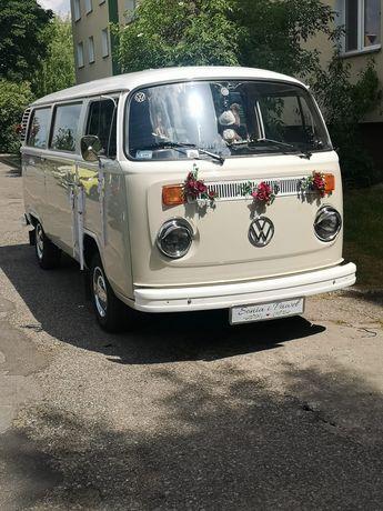 VW Ogórkiem T2 do ślubu