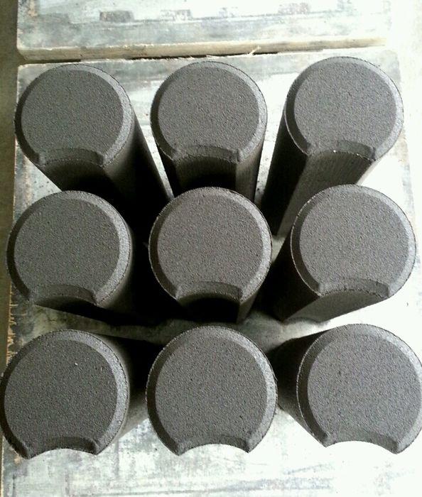 PROMOCJA. Palisada betonowa 30cm grafitowa 4zł fi. 10cm, 10,5szt/mb Pogwizdów - image 1
