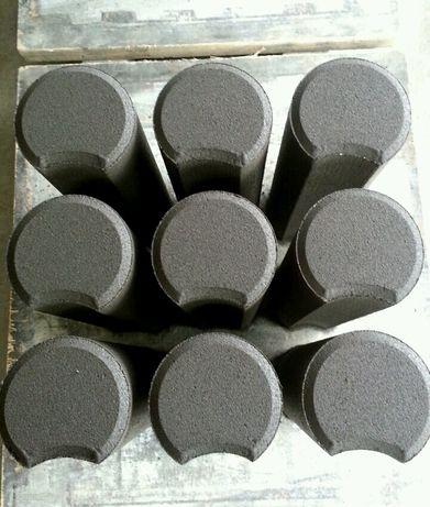 PROMOCJA. Palisada betonowa 30cm grafitowa 4zł fi. 10cm, 10,5szt/mb