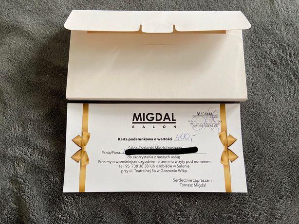 Voucher do salonu MIGDAL