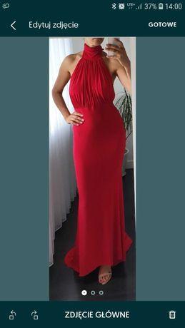 Nowa wieczorowa suknia firmy Club London rozmiar 38 (10)