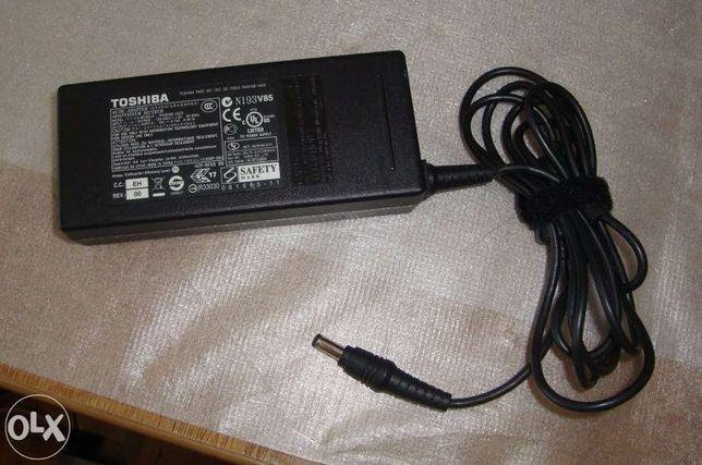 Carregador toshiba original 19v - 4.74amp - novos