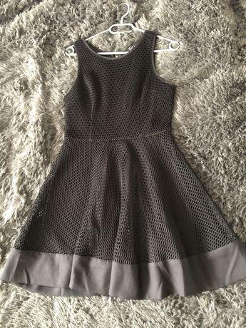 Koronkowa sukienka, sukienka z siateczki Forever21