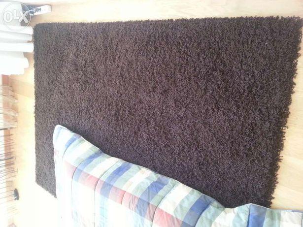 Carpete moderna 160x230 castanho