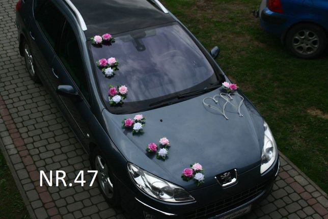 Piękna dekoracja na samochód w 3kolorach/ Zapraszam/stroik/ozdoba