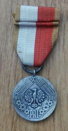 Medal 40-lecia PRL